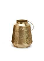 Antique Brass Metal Lantern - Small