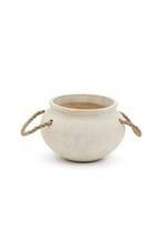 Textured Ceramic Planter - Small