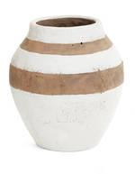 Cement Stripe Vase November