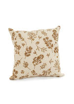 Embroidered Floral Cushion Cover November