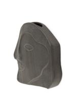 Grey Amadeo Hanging Face Vase