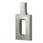 Keyhole Vase Silver - Tall