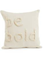 Be Bold Embroidered Cushion Cover