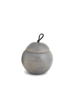 Small Benton Round Wooden Box