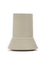 Castello Ceramic Rib Vase Sage - Large