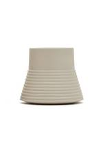 Castello Ceramic Rib Vase Sage - Small