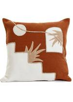 Ferrol Embroidered Cushion Cover