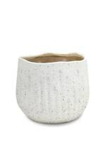 Terran Ceramic Planter Off White