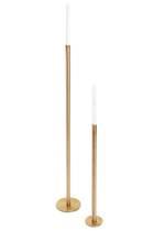 Garcia Brass Floor Candle Holder 1m - October