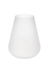Hester Frosted White Vase - Small