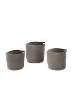 Grey Meyer Velvet Baskets