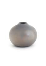 Portales Round Wooden Vase