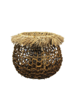Fringe Basket Natural