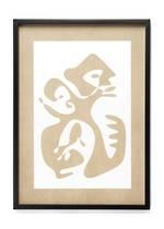 Sioux Abstract Framed Art - Sept October