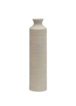 Skyler Tall Ceramic Vase Greige - Small
