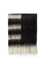Tamara Heavy Throw Black/White