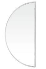 Tasha Silver Half Moon Mirror - Large