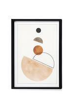 Xiba Framed Abstract Wall Art
