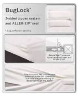 Bug Lock Protector SINGLE Mattress Protector