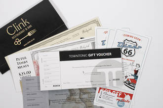 Vouchers & Tickets