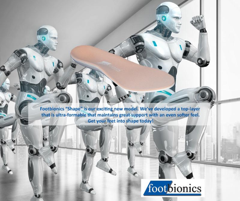 Footbionics Shape Robots