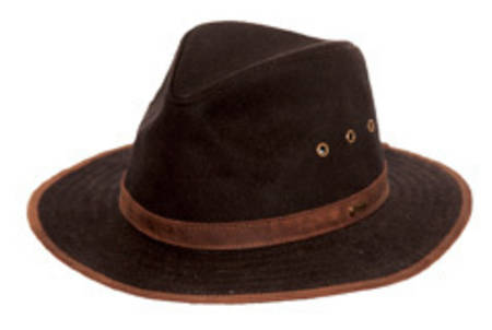 Outback Madison Oilskin River Hat-1462
