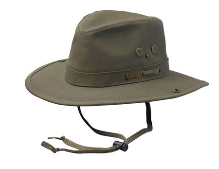 Outback Canvas River Guide II Hat-14725