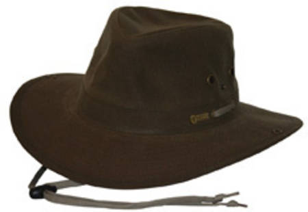 Outback River Guide Oilskin Hat - 1497