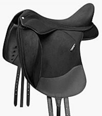 Wintec Pro Dressage with Contourbloc - Flock