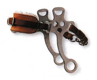 Korsteel Fleece Nose Hackamore