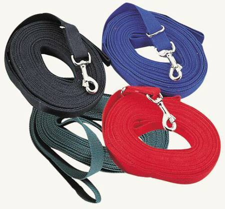Kincade Cotton Web Lunge Reins