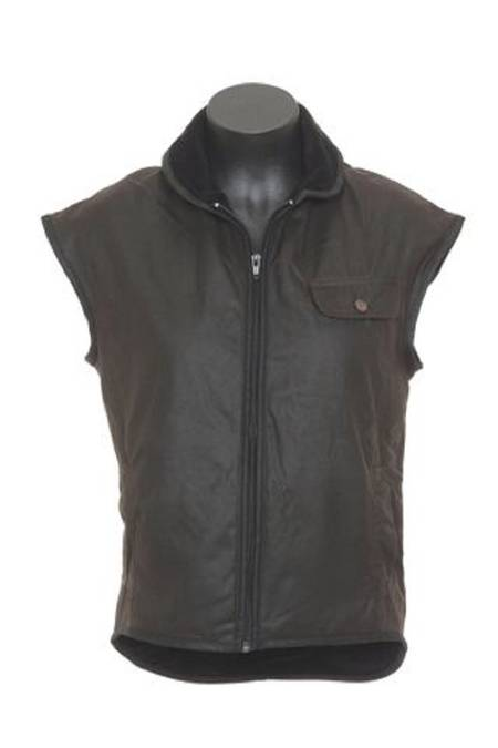 Outback Childrens Oilskin Vest-6071
