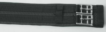 Kincade Anti Chaffe Girth GP Black