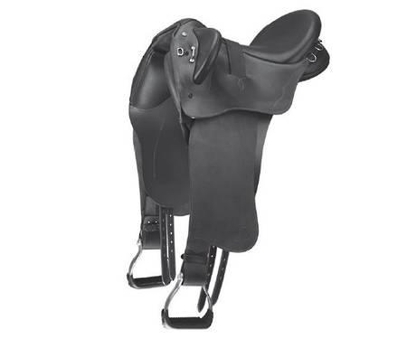 Bates Kimberley Stock Saddle With Swinging Fender - Hart