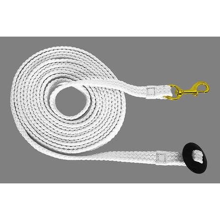 Blue Tag Braided Lunge Lead