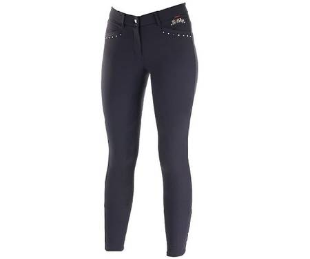 B//Vertigo Olivia Ladies' Silicone Full Seat Breeches