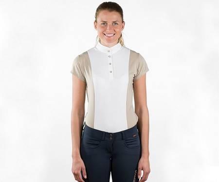 B//Vertigo Adele Ladies' Short-Sleeved Show Shirt