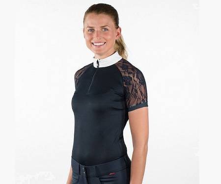 B//Vertigo Amy Ladies' Lace Show Shirt