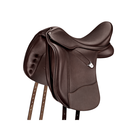 Bates Wide Dressage + Saddle with Luxe Leather - Hart