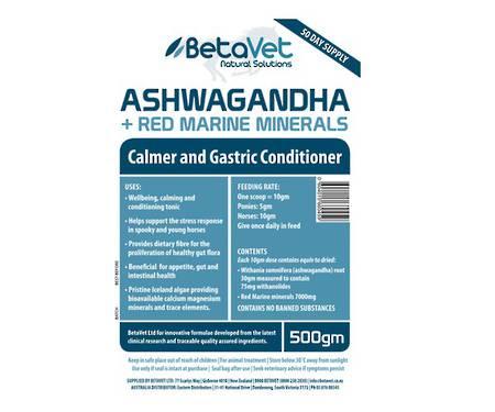Betavet Ashwagandha + Red Marine Minerals