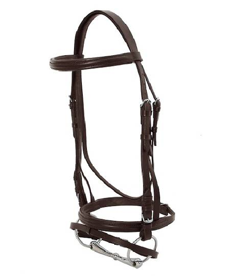 Blue Tag Hanoverian Bridle