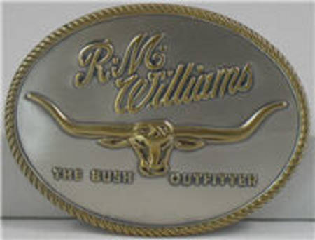 RM Williams Logo Buckle CG219