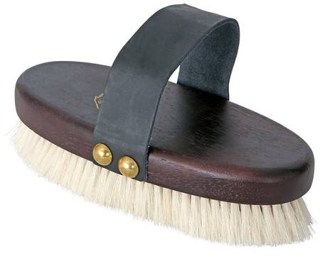 Cavallino Goat Hair Bristle Body Brush
