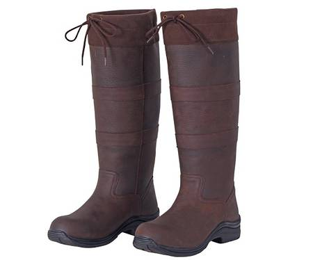 Cavallino Leather Country Boots