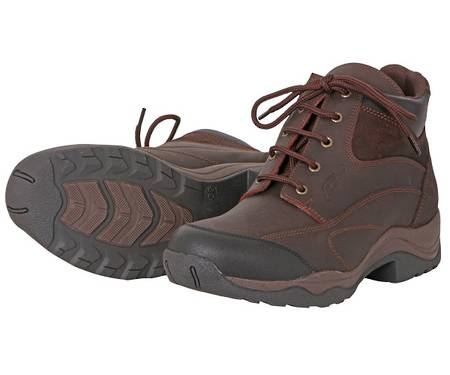 Cavallino Leather Lace Farm Boot