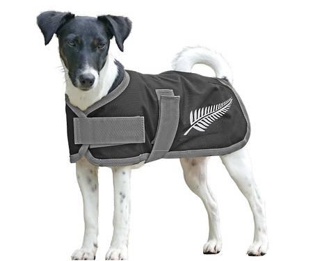 Cavallino Silver Fern Dog Coat - 100gm Fill