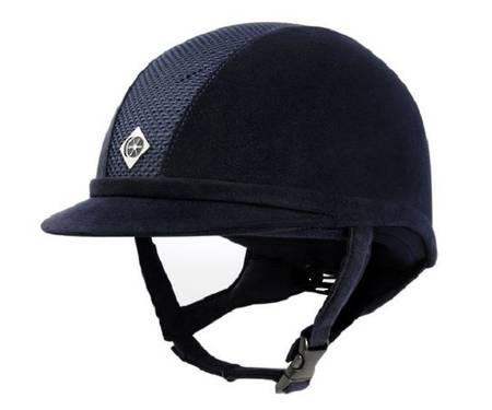 Charles Owen AYR8 Suede Helmet