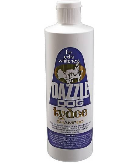 Tydee Dazzle Dog Whitening Shampoo