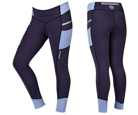 Dublin Power Performance Mid Rise Colour Block Tights - Childs