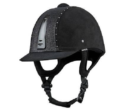 Dublin Silverline Fizz Diamante Helmet